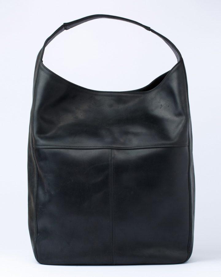 чорна сумка хобо