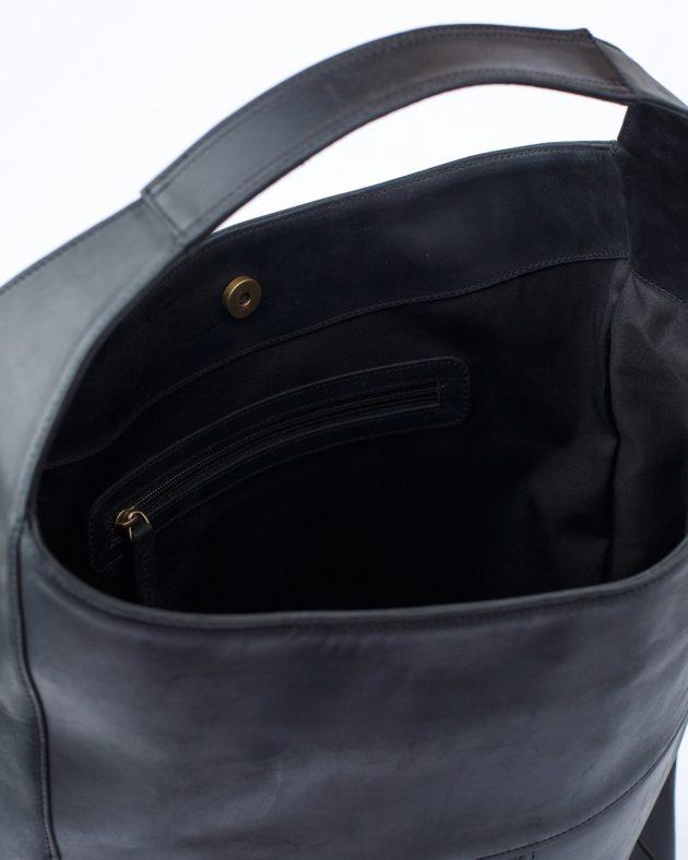 сумка хобо всередині