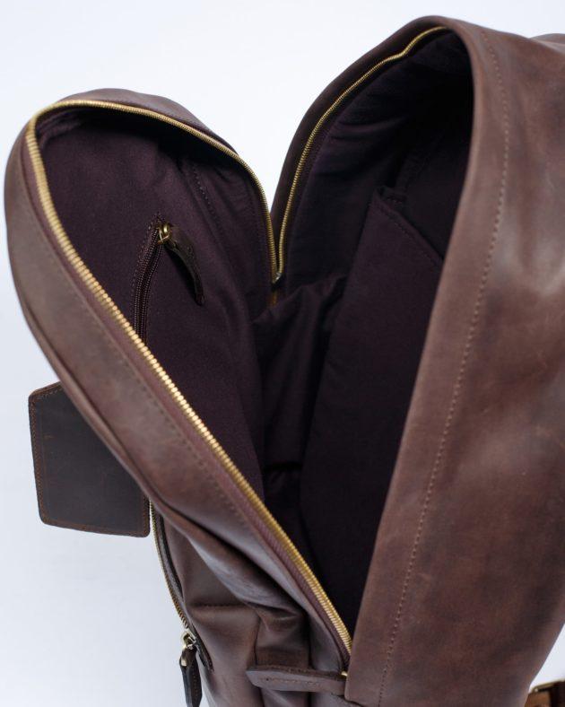 модний рюкзак зі шкіри
