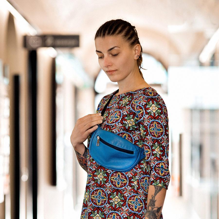 Фото: сумочка через плече шкіра